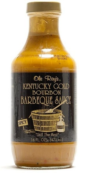 Kentucky Gold Bourbon BBQ Sauce