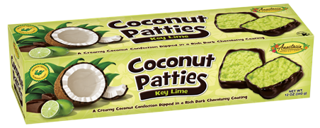 Key Lime Coconut Patties 12 oz.