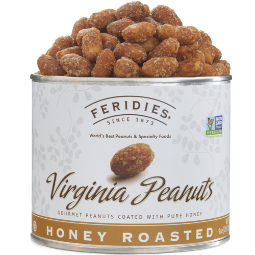 Honey Roasted Peanuts 9 ounces