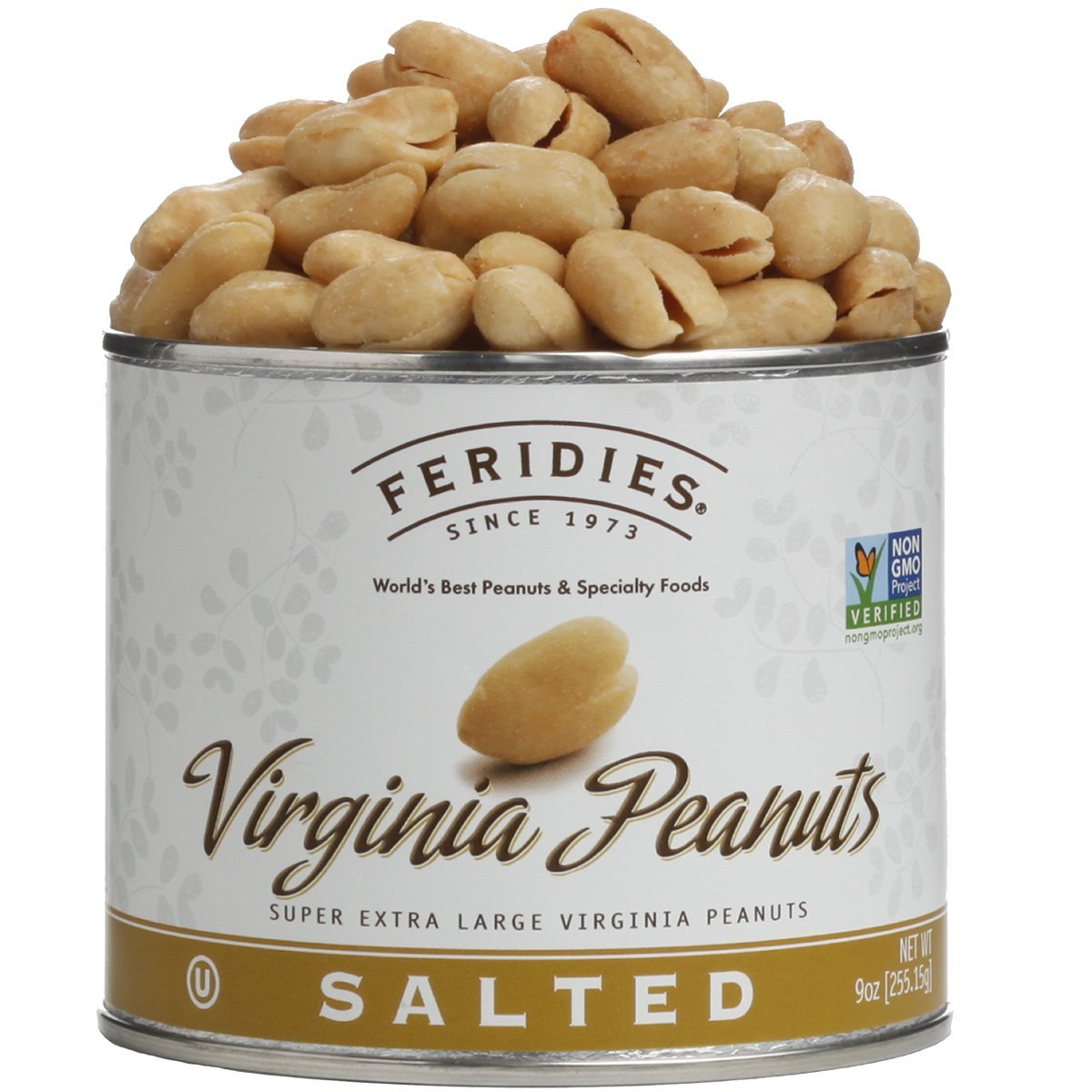 Salted Peanuts 9 ounces