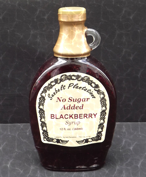 Blackberry Syrup NSA