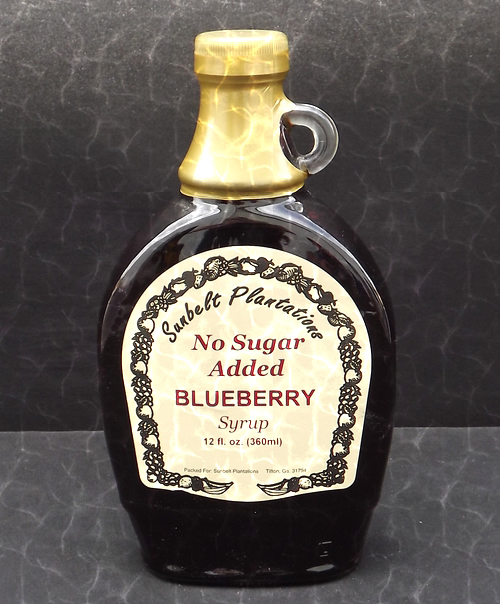Blueberry Syrup NSA