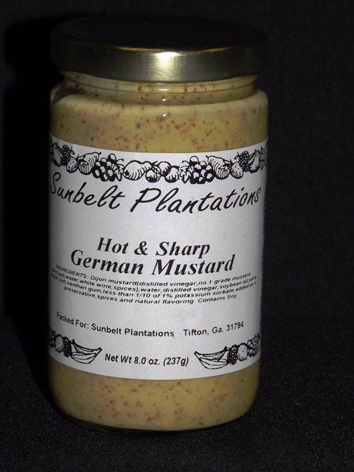 Hot & Sharp German Mustard