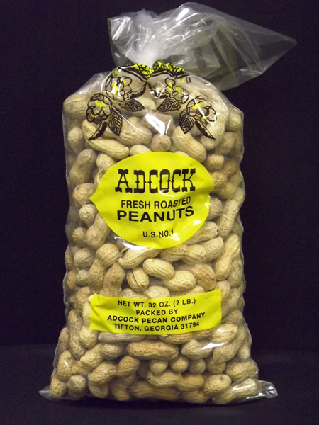 Fresh Roasted Peanuts in Shell 2lbs