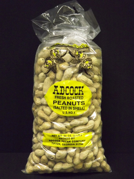 Fresh Roasted & Salted Peanuts in Shell 2lbs