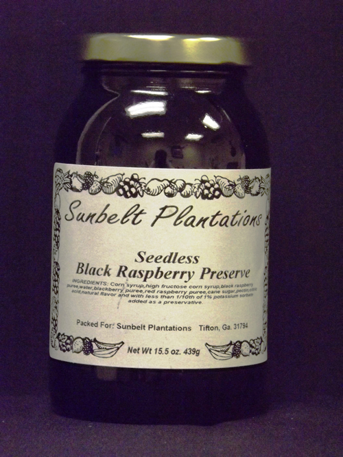 Seedless Black Raspberry Preserve
