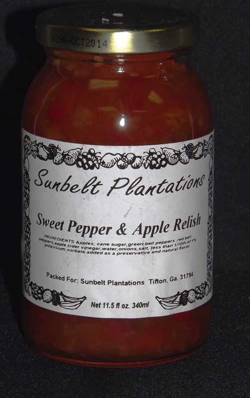 Sweet Pepper and Apple Relish